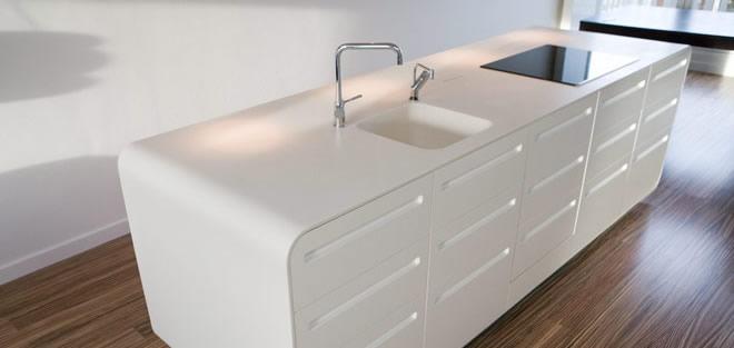 Gu a de materiales para la encimera de la cocina for Mejor material para encimeras de cocina