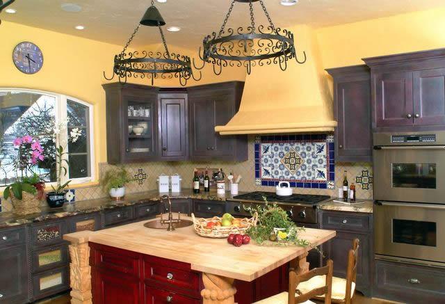 Cocinas camperas rusticas finest top consejos sobre cmo decorar la cocina segn tu estilo with - Cocina rustica barata ...