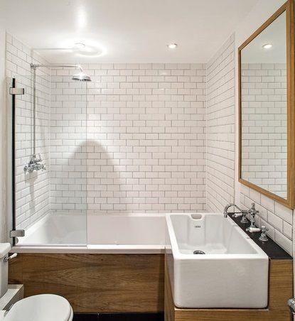 10 consejos para aprovechar un ba o peque o marmoles villena for Cubrir azulejos bano