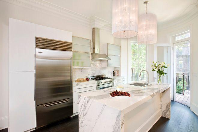 gabinetes de cocina blancos con encimeras de esteatita Gua De Materiales Para La Encimera De La Cocina