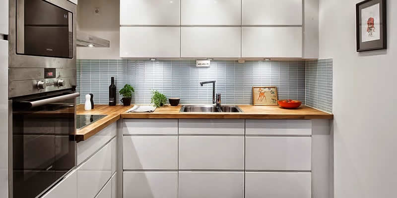 Como aprovechar una cocina pequeña