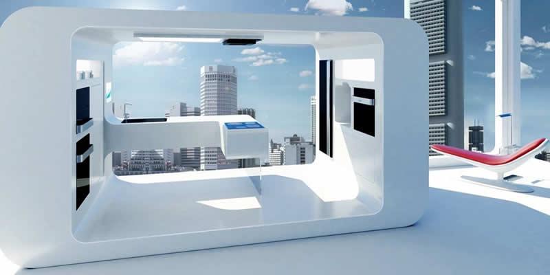 Diseñar nuestra cocina futurista