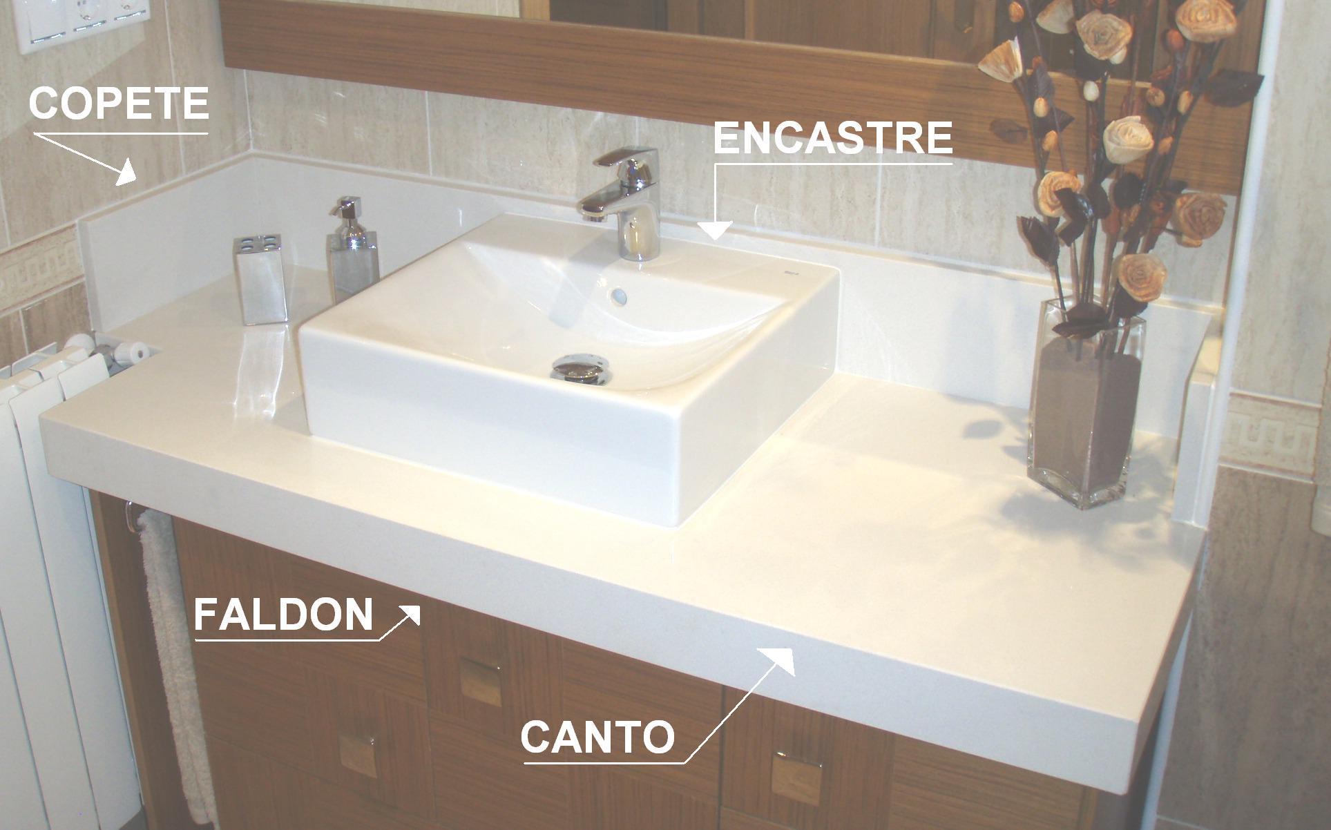 Marmolistas alicante encimeras de ba o silestone granito - Lavabos de marmol para bano ...