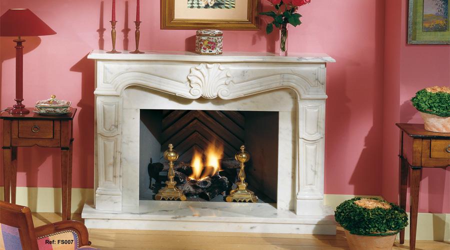Chimeneas de marmol precios airea condicionado - Chimeneas de ocasion ...