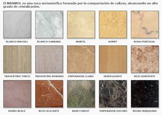 Chimeneas granito y marmol modelos cl sicos for Clases de marmoles y granitos