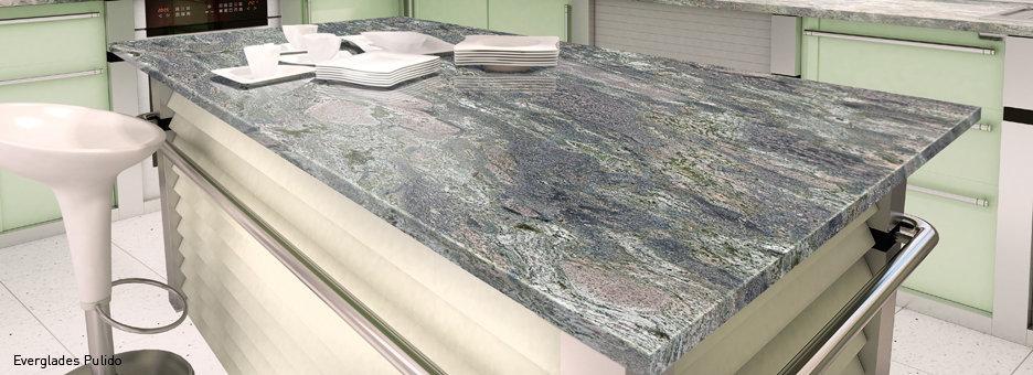 Galer a fotogr fica de encimeras de granito 1 for Colores de granito para encimeras de cocina