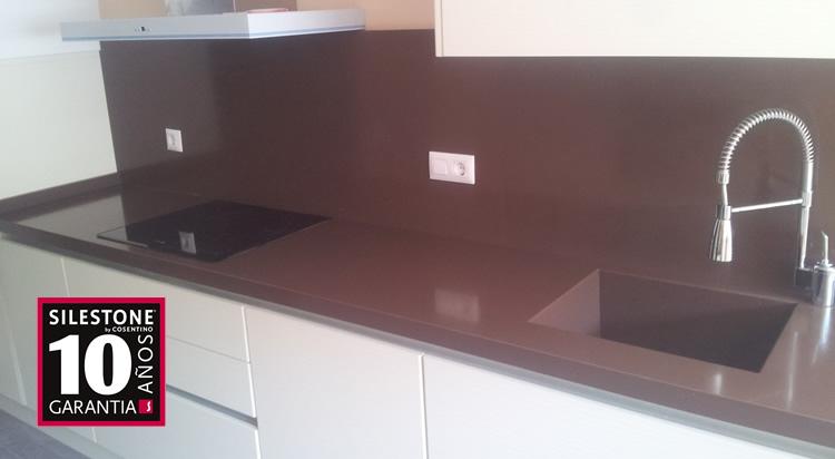 Encimeras de cocina silestone valencia for Encimeras de cocina silestone