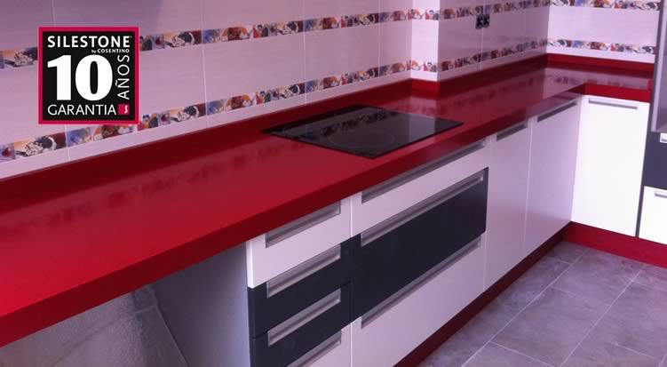 Encimeras de cocina silestone valencia for Granito o silestone para cocinas