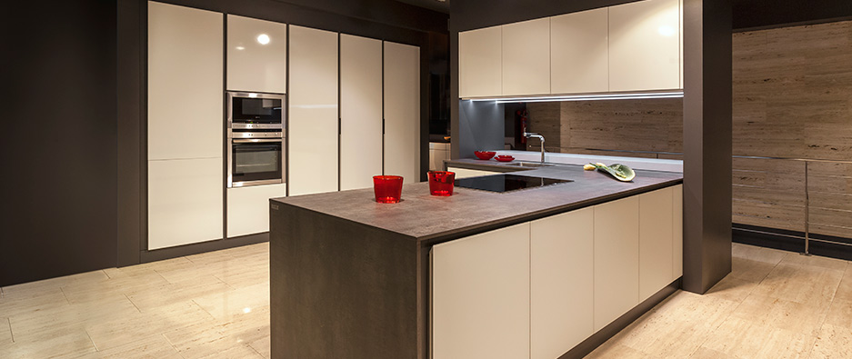 galer a fotogr fica de encimeras techlam y neolith. Black Bedroom Furniture Sets. Home Design Ideas